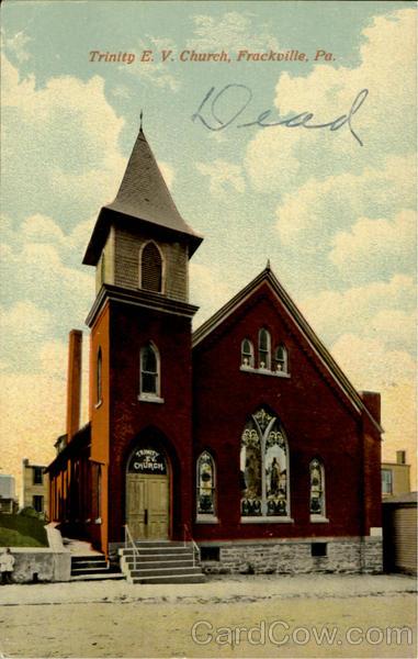 Trinity E. V. Church Frackville Pennsylvania