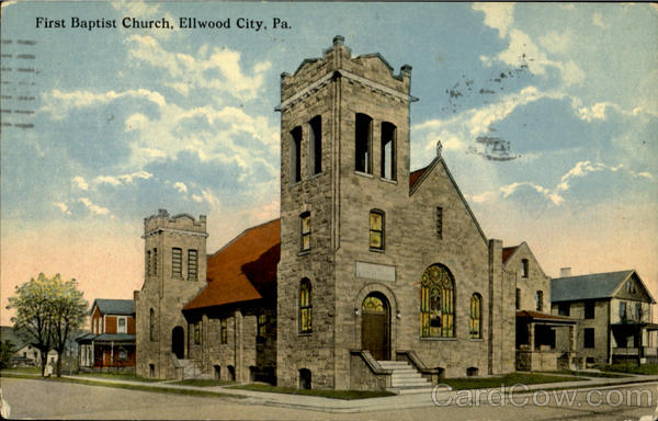 First Baptist Church Ellwood City Pennsylvania