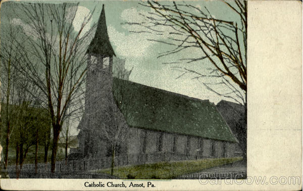 Catholic Church Arnot Pennsylvania
