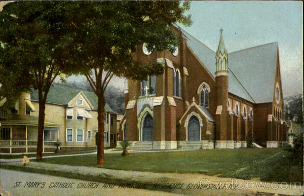 St. Mary's Catholic Church And Parochial Residence Gloversville New York