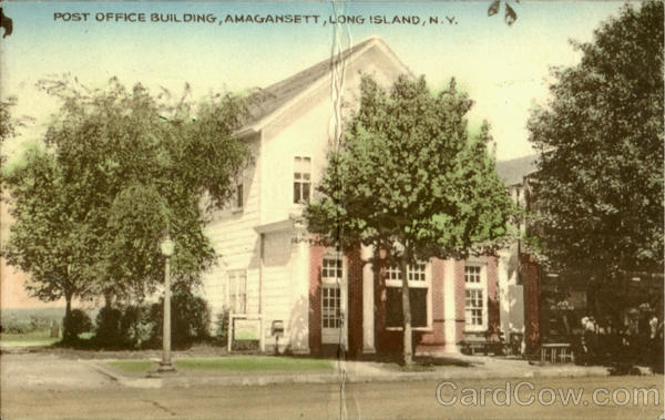 Post Office Building, Amaganset Long Island New York
