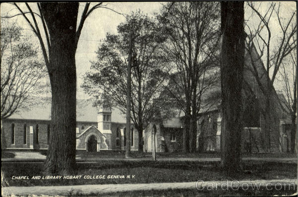 Chapel And Library, Hobart College Geneva New York