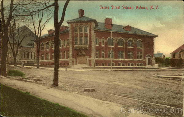 James Street School Auburn New York