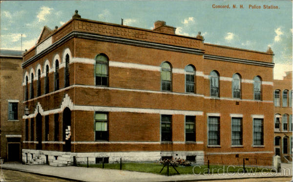 Police Station Concord New Hampshire