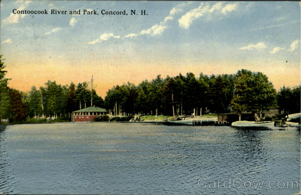 Contoocook River And Park Concord New Hampshire