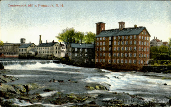 Contoocook Mills Penacook New Hampshire