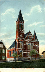 First Reformed Church Postcard