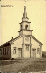 Union Church Postcard