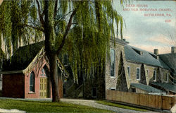 Dead House And Old Moravian Chapel