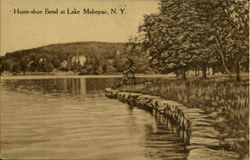 Horse-Shoe Bend At Lake Mahopac