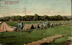 Tent Pitching Drill
