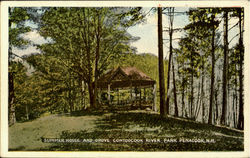Summer House And Grove, Contoocook River Park