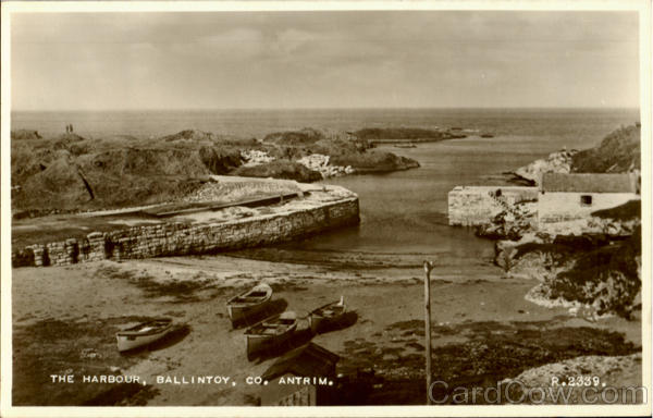 The Harbour, Ballintoy Antrim England