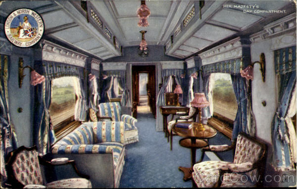 Her Majesty'S Day Compartment.London & North Western Railway Company England