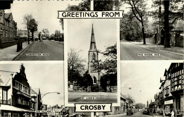 Greetings From Crosby England