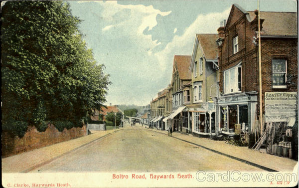 Boltro Road,Fraywards Freath.C.Clarke ,Haywards Heath. England