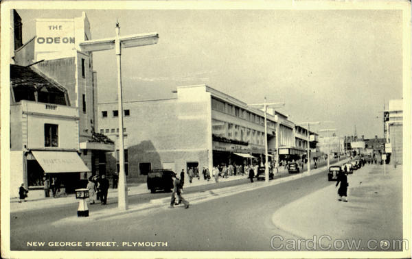 New George Street Plymouth England