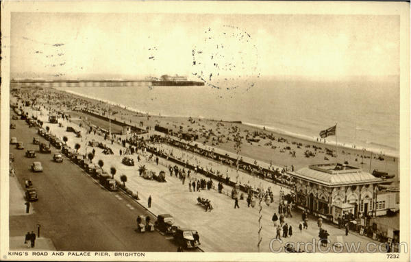King'S Road And Palace Pier Brighton England