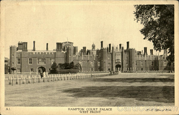 Hamport Court Palace West Front England