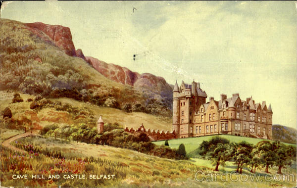 Cave Hill And Castle Belfast England