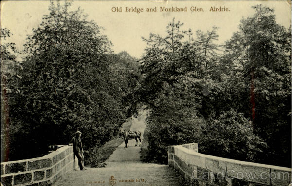 Old Bridge and Monkland Glen Airdrie England