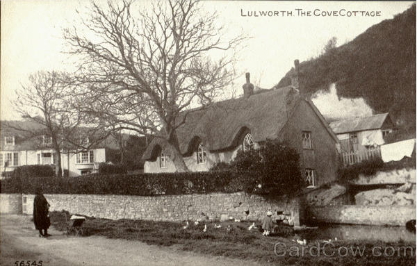 Lulworth.The Cove Cottage England