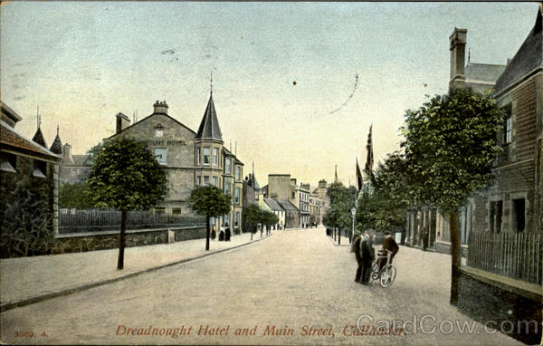 Dreadnought Hotel and Main Street Callander Scotland