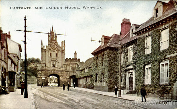 Eastgate And London House Warwick England Warwickshire