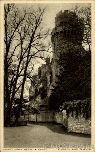 Cesar'S Tower Warwick Castle England Warwickshire