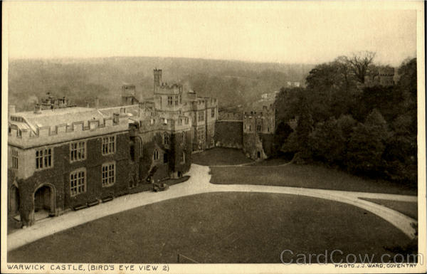 Warwick Castle,(Bird'S Eye View2) England