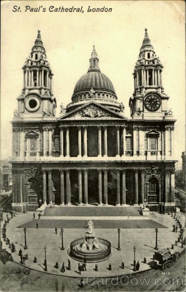 St.Paul's Cathedral London England
