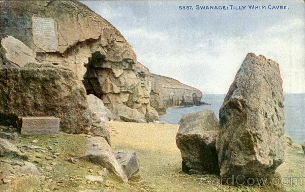 Swanage:Tilly Whim Caves England