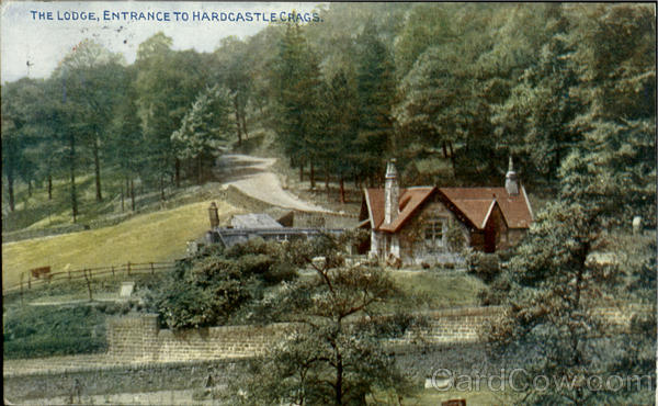 The Lodge,Entrance To Hardcastle Crags England