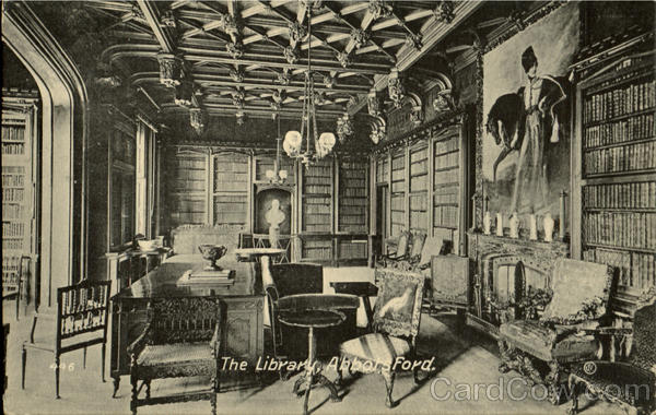 The Library,Abbots Ford England