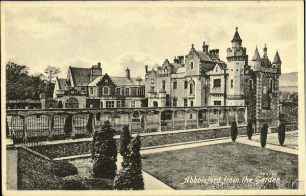 Abbisford from the Garden England