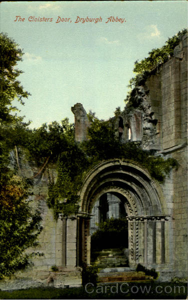 The Cloisters Door Dryburgh Abbey Scotland