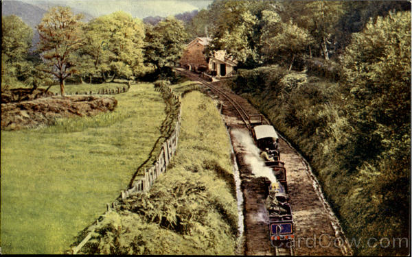 Eskadale Narrow Gauge Railway England Trains, Railroad