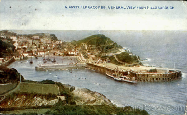 Ilfracombe;General View From Hillsborough England