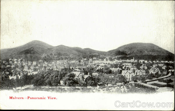 Malvern-Panoramic View England