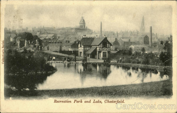 Recretion Park and Lake,Chesterfield England