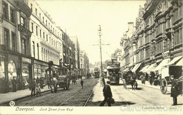 Liverpool.Lord Street from East England