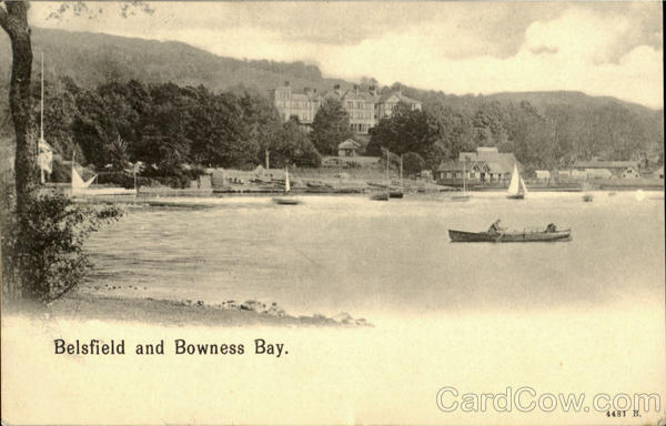 Belsfield and Bowness Bay England