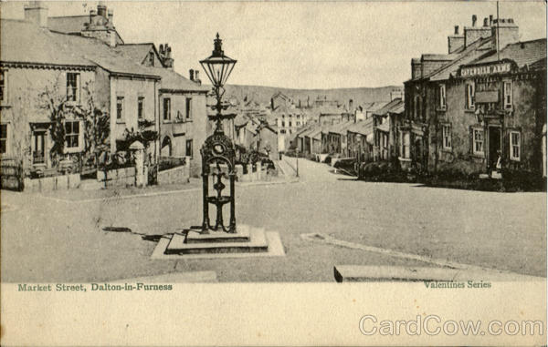 Market Street,Dalton-in-Furness England