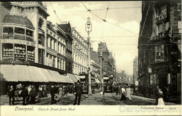 LIverpool.Church Street from West England