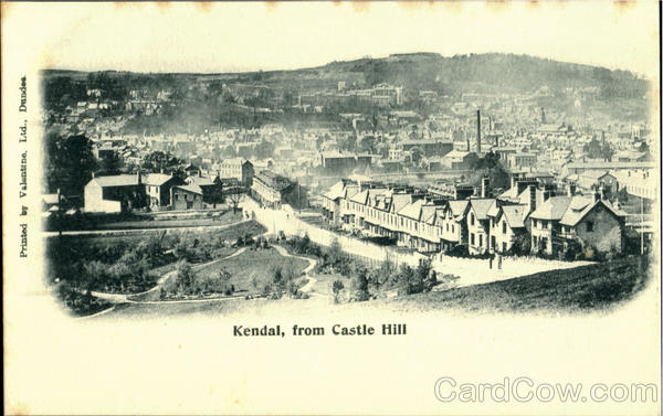 Kendal,from Castle Hill England