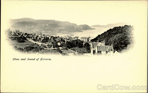 Oban and Sound of Kerrera England
