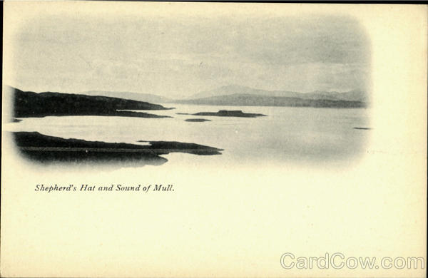 Shepherd's Hat and Sound of Mull England