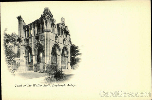 Tomb of Sir Walter Scott Dryburgh Abbey Scotland