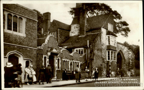 The Museum And Castle Gateway, Quarry Street Guildford England