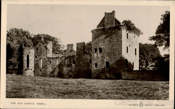 The Old Castle Edzell England